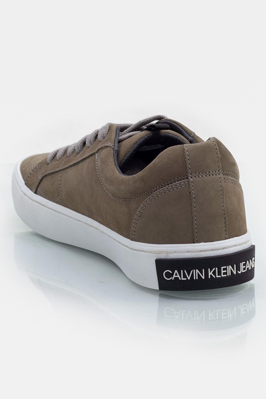 Tenis Casual Calvin Klein Skate Nobuck Liso