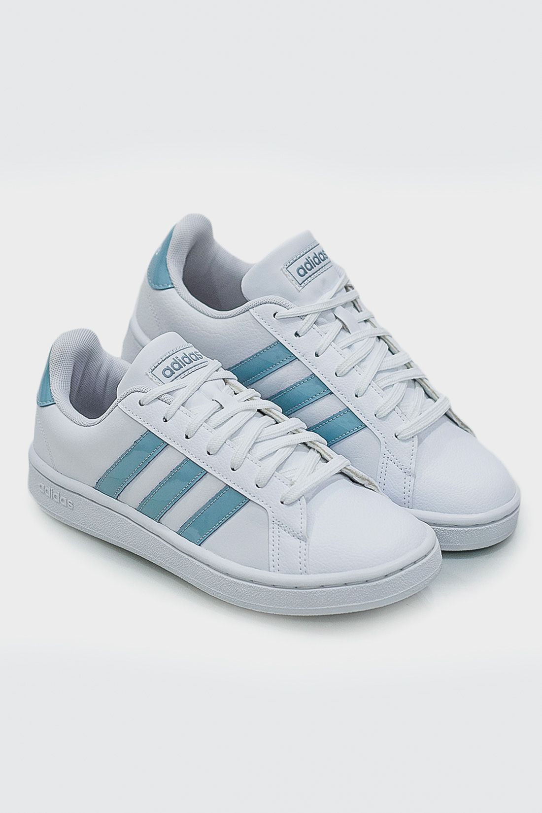Tenis Casual Fem Adidas Grand Court