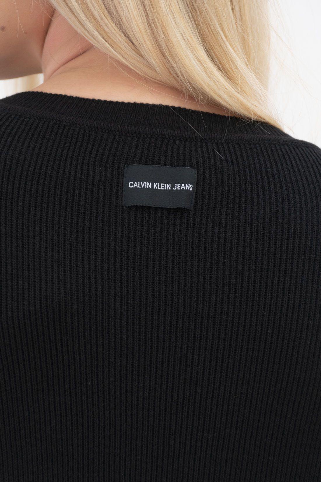 Tricot Calvin Klein Logo Meio