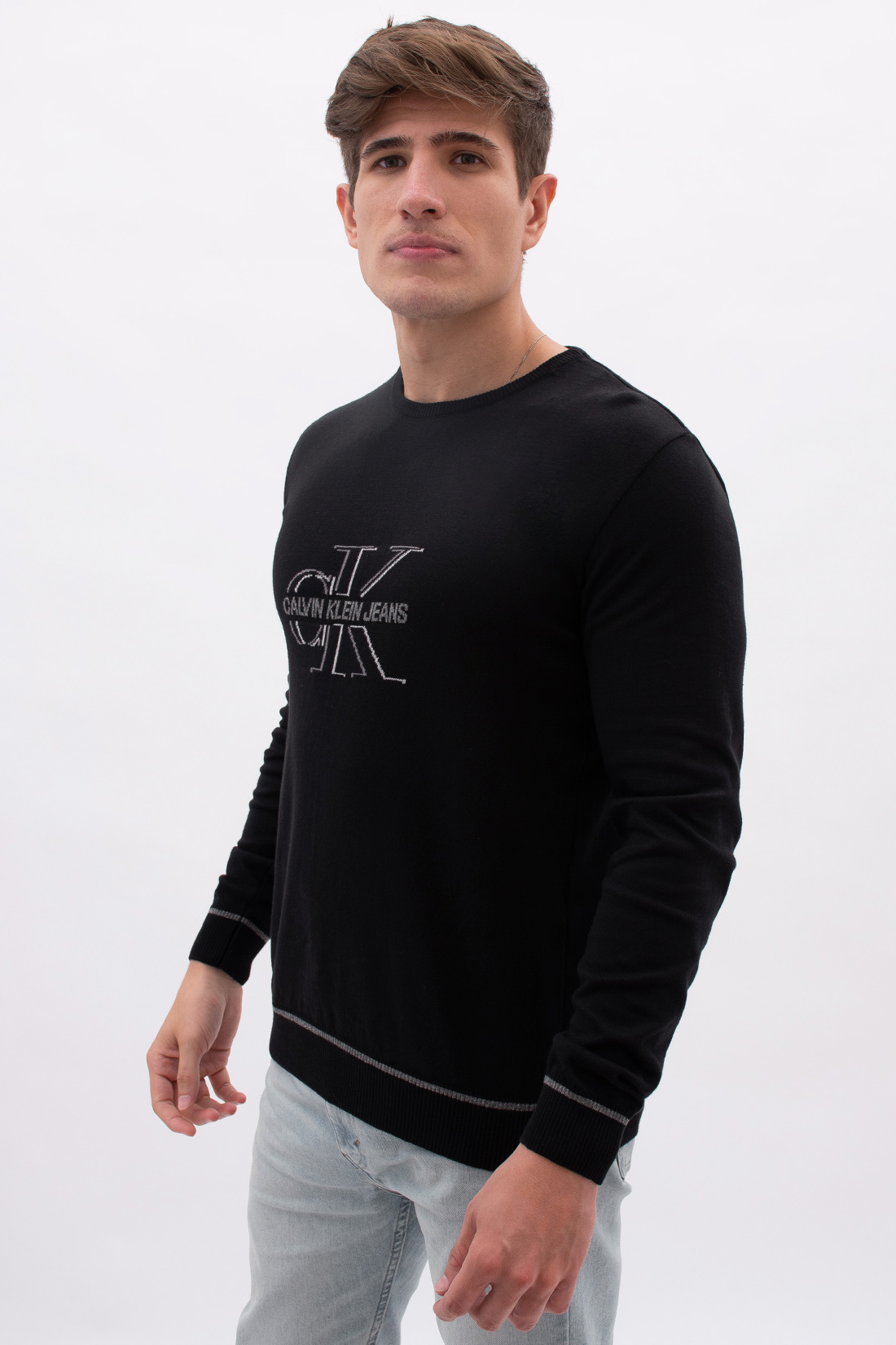 Tricot Calvin Klein Logo Reissue