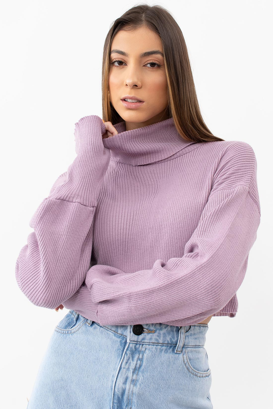 Tricot Cropped Honey