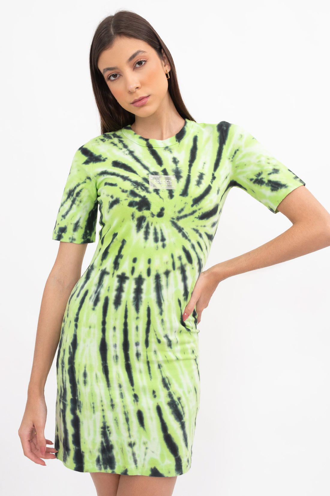Vestido Colcci Fun Tie Dye Etiqueta