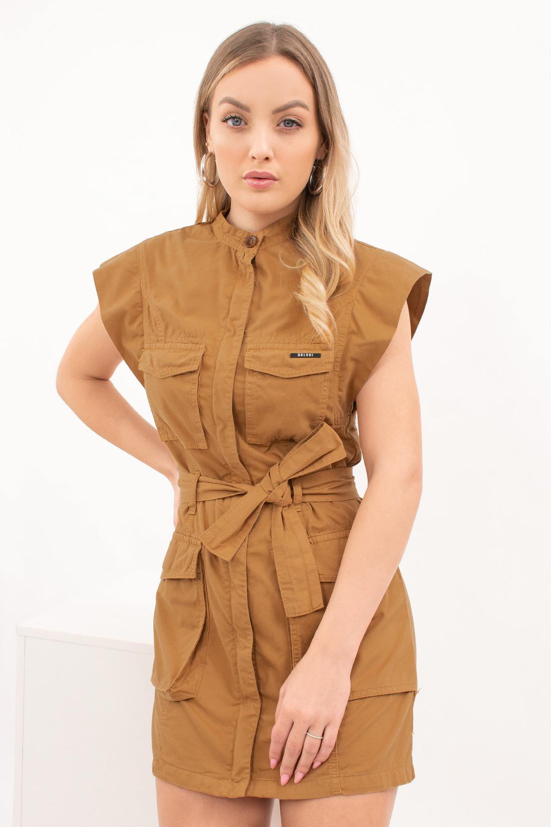 Vestido Colcci Sarja Bolsos