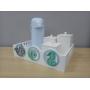 Kit Higiene Fundo do Mar Madeira com Garrafa Térmica