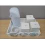Kit Higiene Meios de Transportes Madeira com Garrafa Térmica