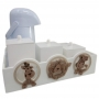 Kit Higiene Safari Madeira com Garrafa Térmica