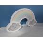 Luminária Abajur Arco-Iris de Mesa Com Led Com ou Sem Fio