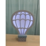 Luminária Abajur Balão de Mesa com Led Com ou Sem Fio