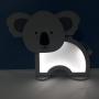Luminária Abajur Coala De Mesa Com Led Com ou Sem Fio