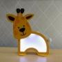 Luminária Abajur Girafa De Mesa Com Led Com ou Sem Fio