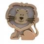 Luminária Abajur Leão de Mesa com Led Com ou Sem Fio