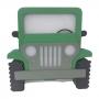 Luminária Abajur Novo Jeep de Mesa com Led Com ou Sem Fio