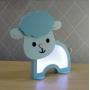 Luminária Abajur Ovelha De Mesa Com Led Com ou Sem Fio