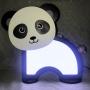 Luminária Abajur Panda De Mesa Com Led Com ou Sem Fio
