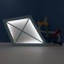 Luminária Abajur Pipa de Mesa com Led Com ou Sem Fio