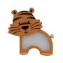 Luminária Abajur Tigre De Mesa Com Led Com ou Sem Fio
