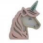 Luminária Abajur Unicornio de Mesa com Led Com ou Sem Fio