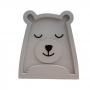 Luminária Abajur Urso Polar de Mesa com Led Com ou Sem Fio