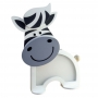Luminária Abajur Zebra De Mesa Com Led Com ou Sem Fio
