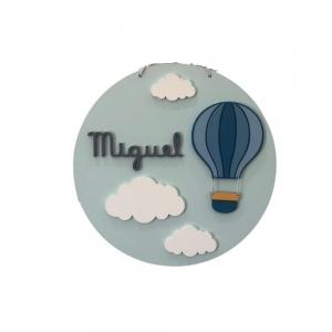 Mandala Balão e Nuvens Miguel