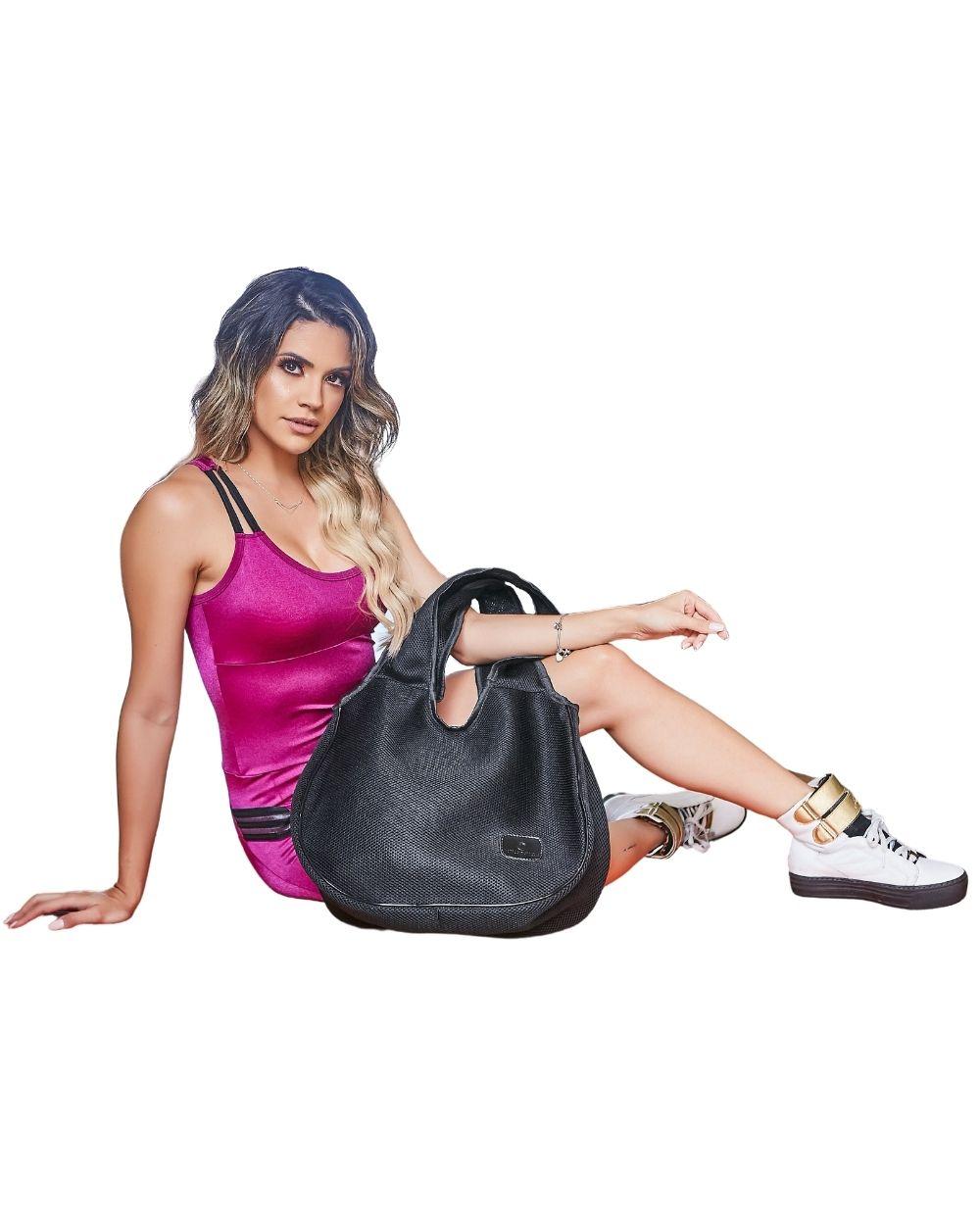 Bolsa Giselle Matteo Matteucci Fitness Preto
