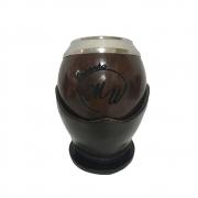 Cuia personalizada com sua logo Uruguaia coquinho bocal inox