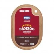 Tábua para Churrasco Oval Bamboo 33 x 23