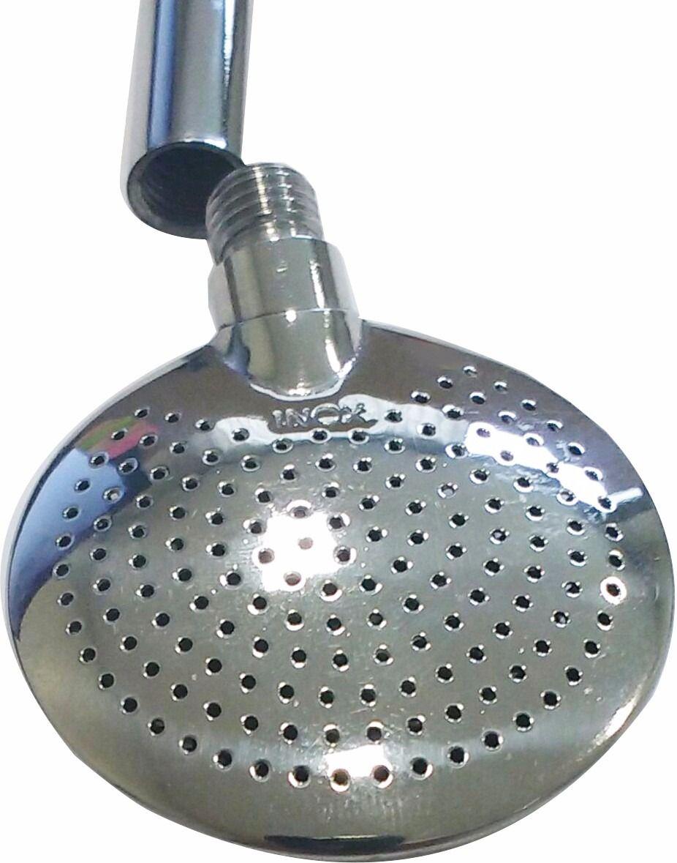 Bomba Chimarrão aço inox brasão em relevo 21 cm