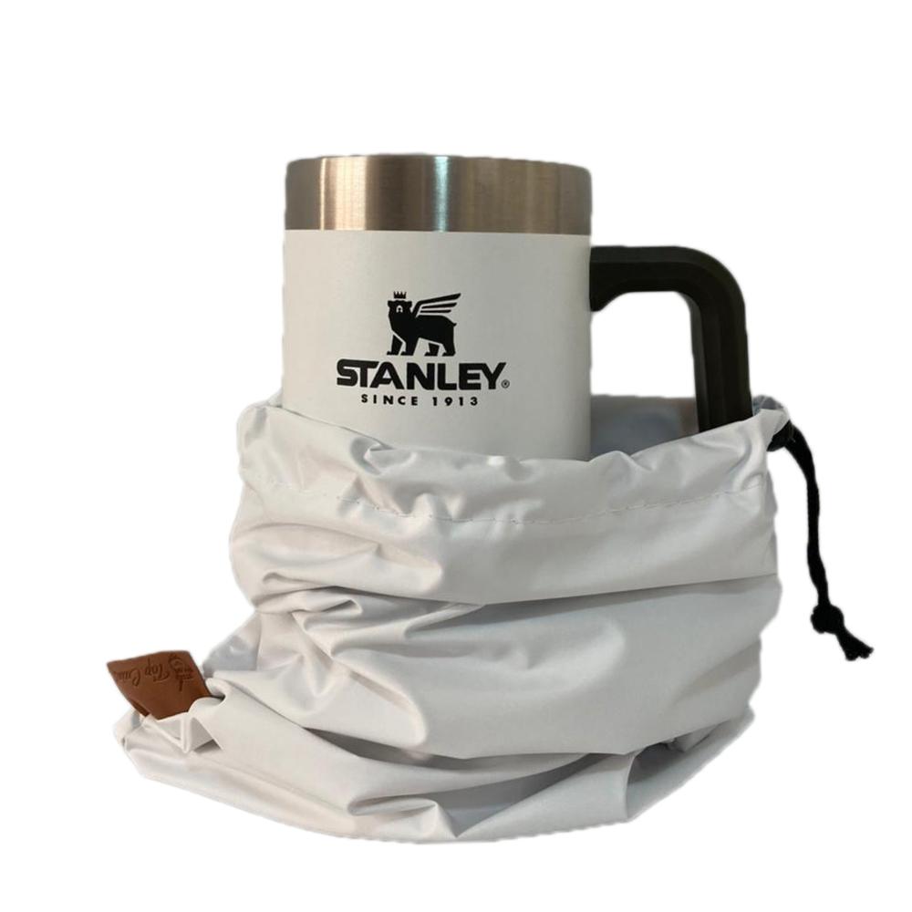 Caneca Térmica Stanley Beer Stein Para Cerveja 709ml Branca Original + Case Proteção