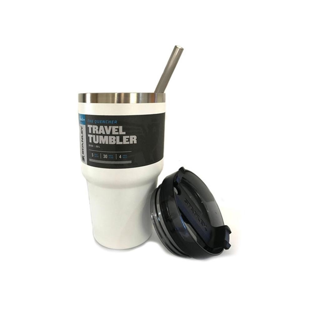 Copo Stanley 100% Original C/canudo Branco 591 ml