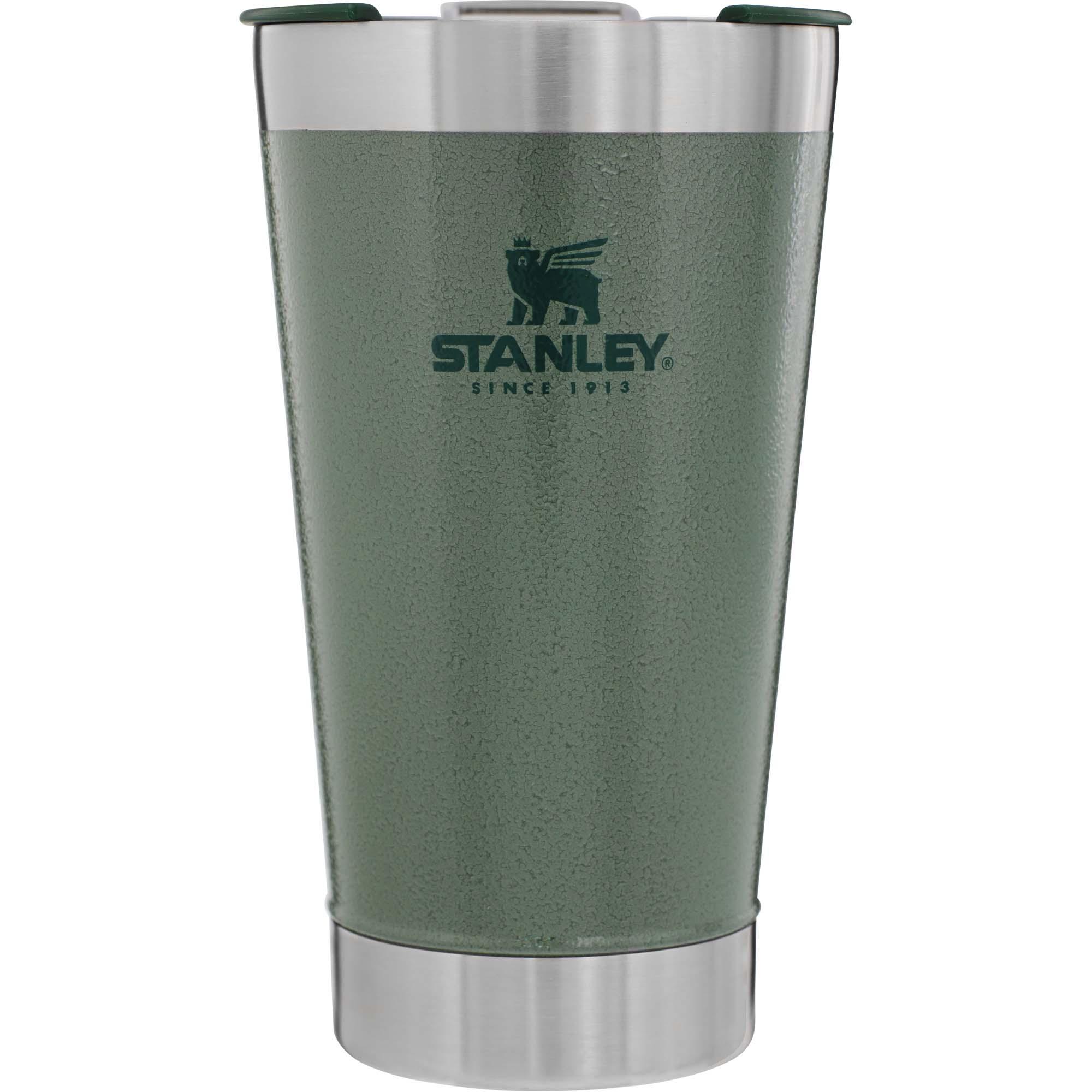 Copo Térmico Cerveja Verde Com Tampa 473ml Stanley