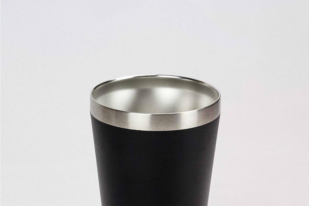 Copo Térmico Magic Beer 473ML Pownder Coating Black - Preto