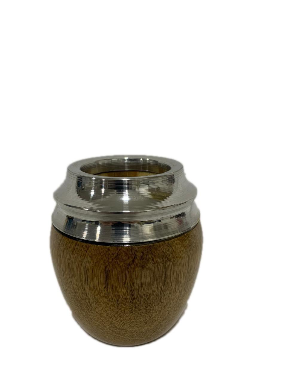 Cuia coquinho modelo 2 Madeira Grapea