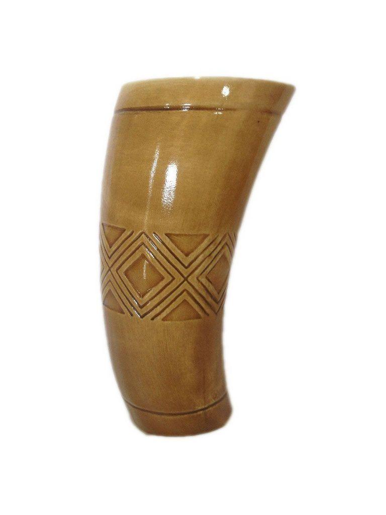 Cuia tereré Cerâmica estilo guampa