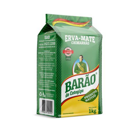 Erva mate Chimarrão Barão Nativo Vácuo 1 kg