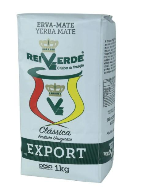 Erva Mate Rei Verde Export Padrão Uruguaio Classica 1kg