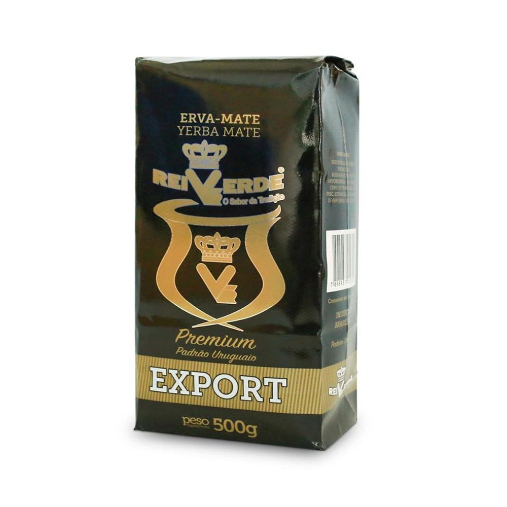 Erva Mate Rei Verde Export Padrão Uruguaio Premium 500g