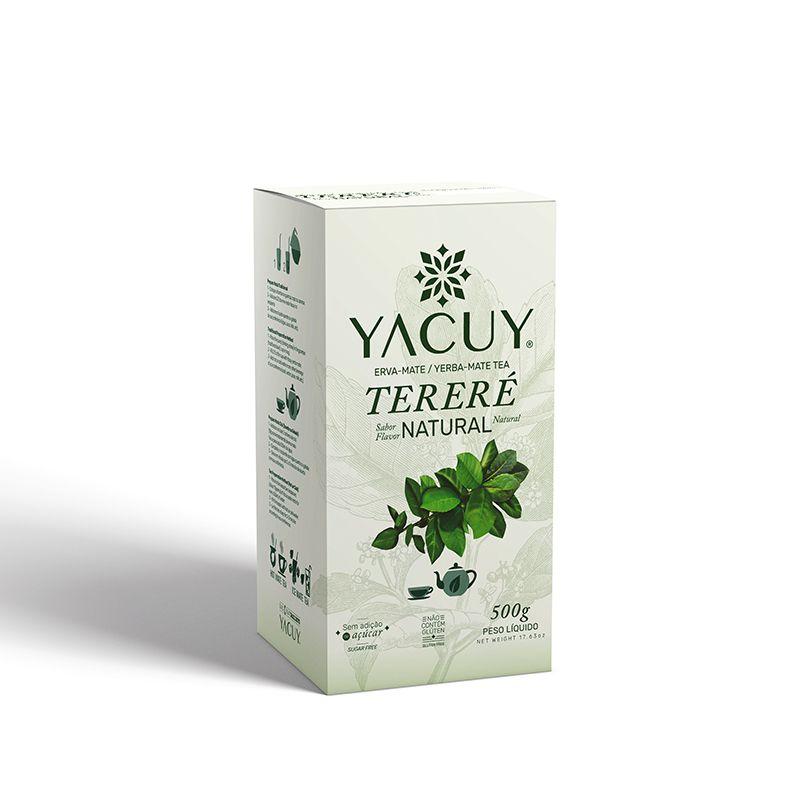 Erva Mate Tereré Yacuy 500 g Natural