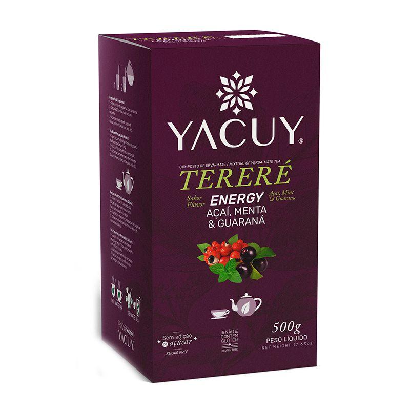 Erva Mate Tereré Yacuy Açaí, Menta e Guaraná 500 g