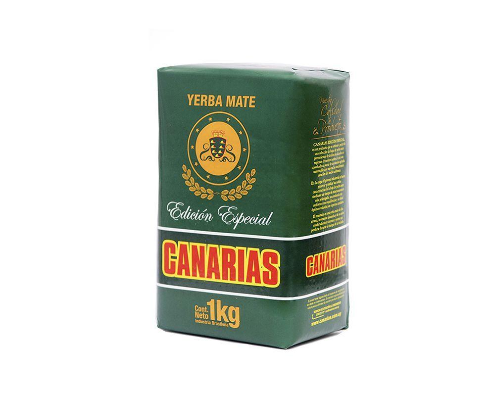 Erva Mate Yerba mate Uruguaia Canarias Edição Especial 1 kg