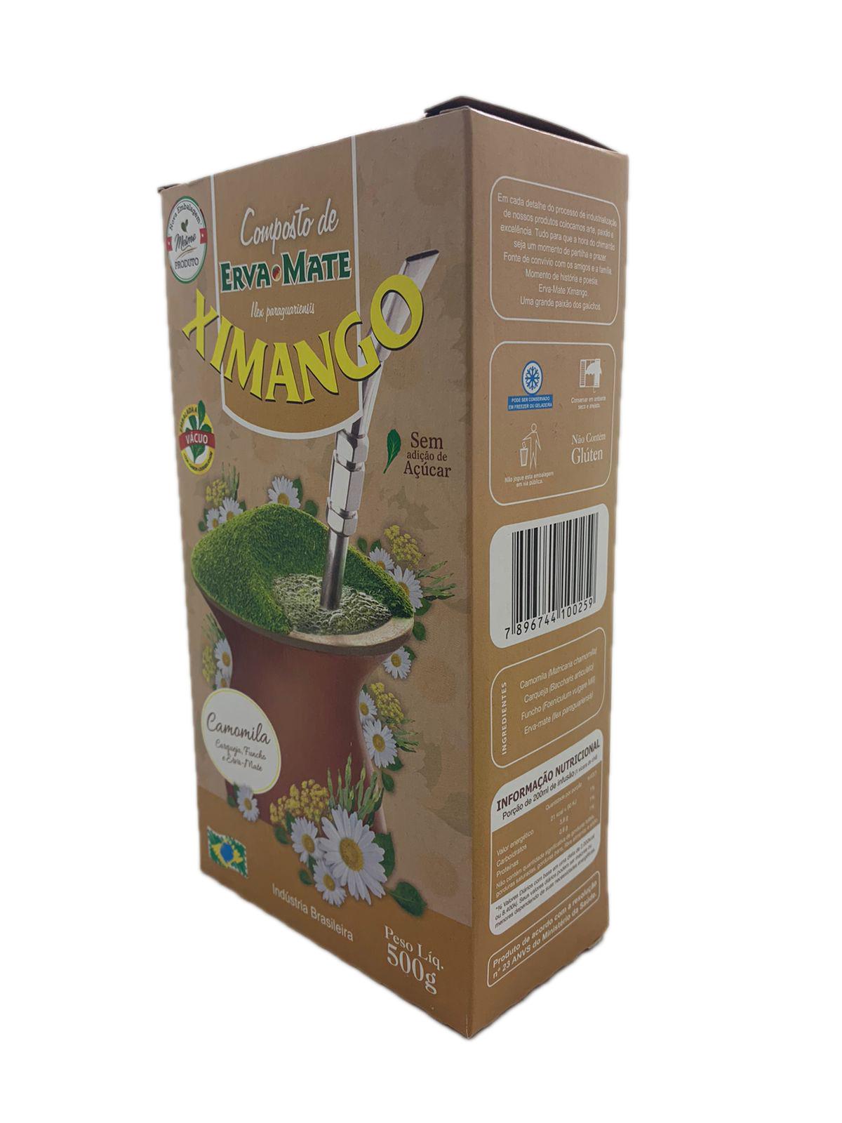 Erva mate Ximango Camomila 500 g
