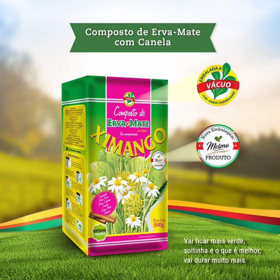 Erva mate Ximango Canela 500 g
