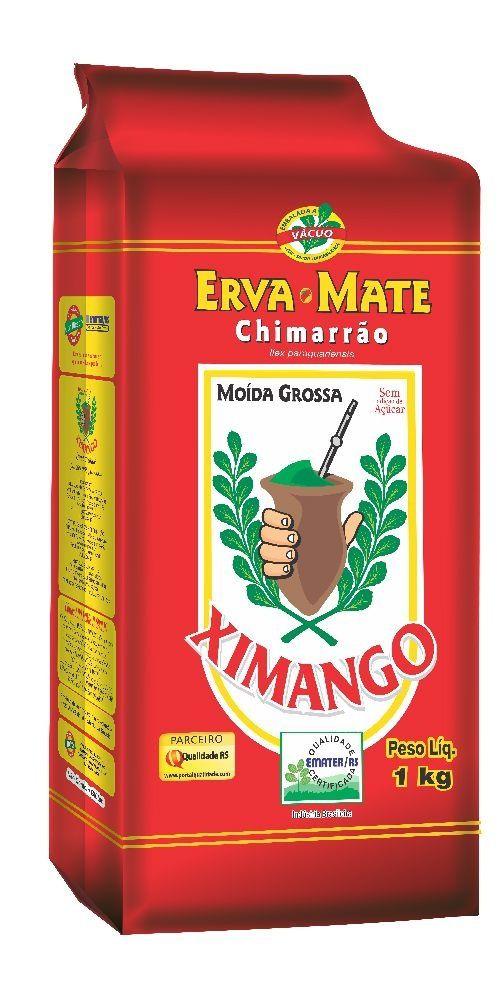 Erva-mate Chimarrão Ximango Moída Grossa a vácuo 1 Kg