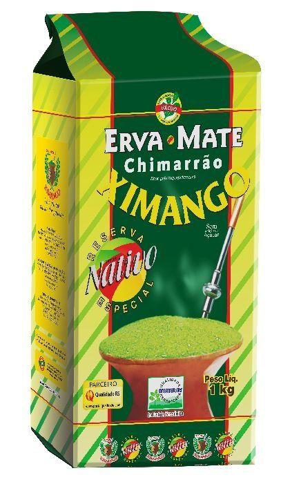 Erva-Mate Chimarrão Ximango Nativa a vácuo 1Kg