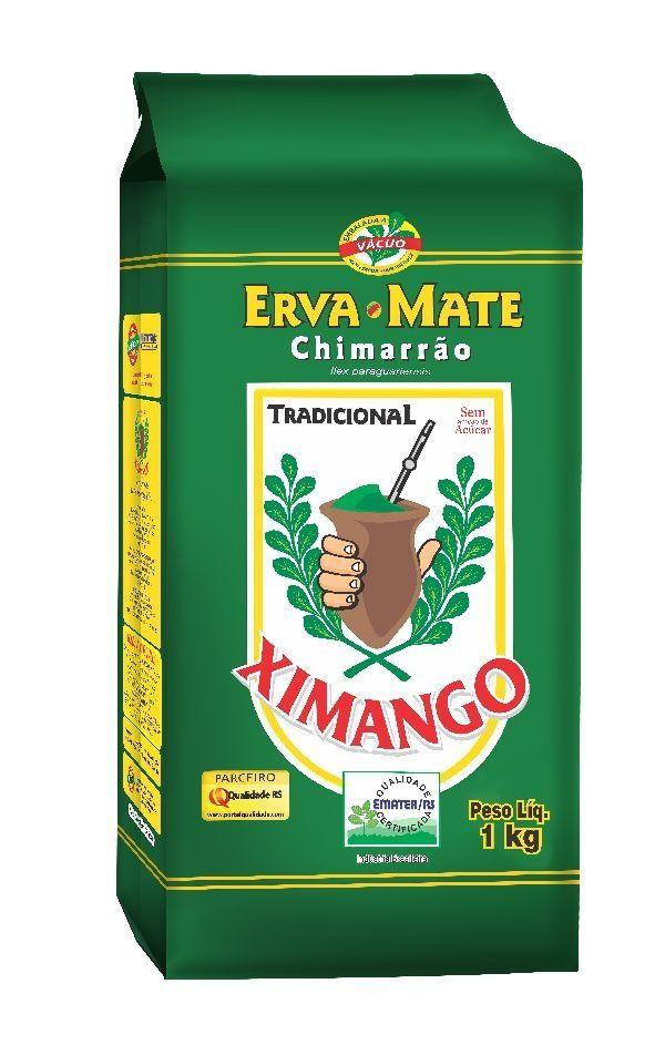 Erva-mate Chimarrão Ximango Tradicional a vácuo 1 Kg
