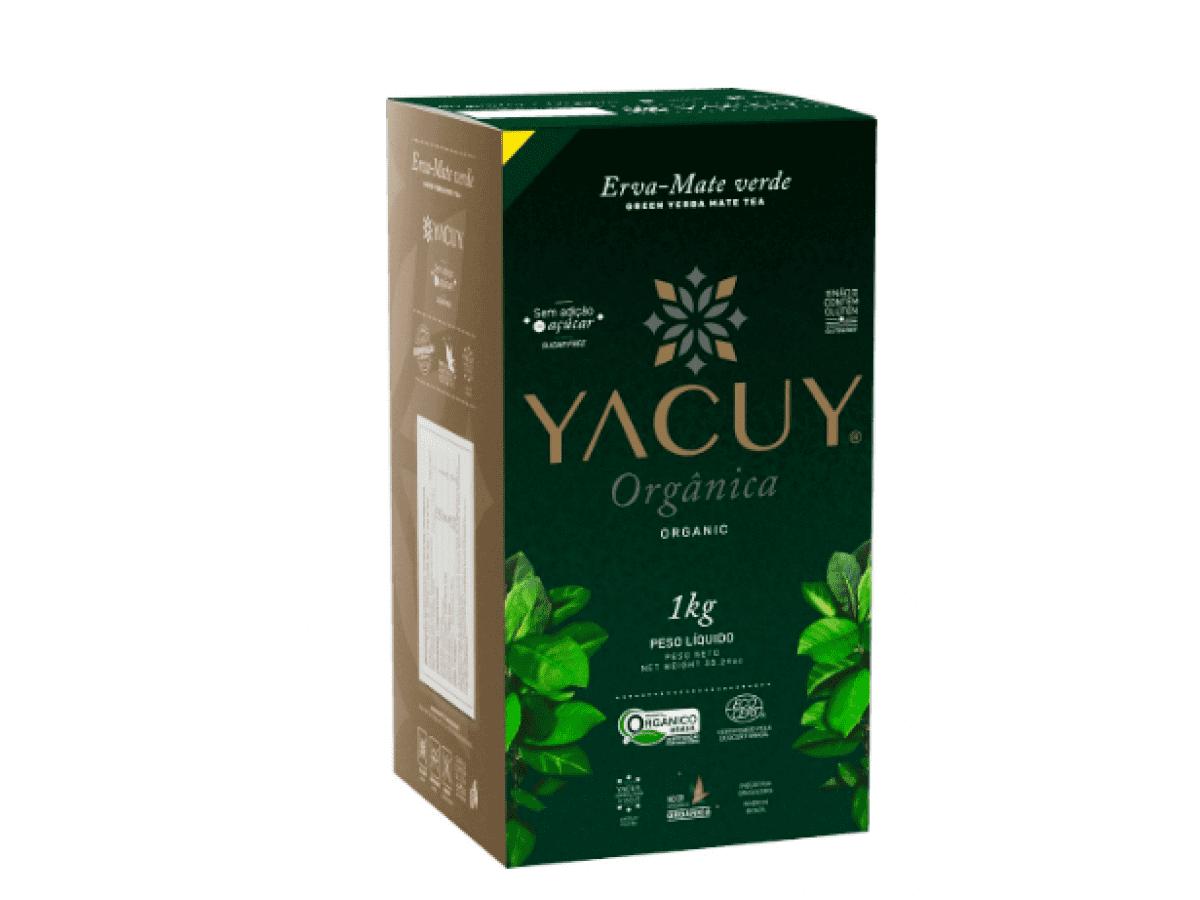 Erva Mate Yacuy Orgânica a vácuo 1 kg