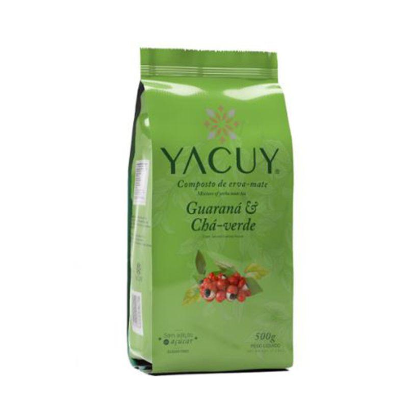 Erva-Mate Yacuy Composta Guaraná 500 g