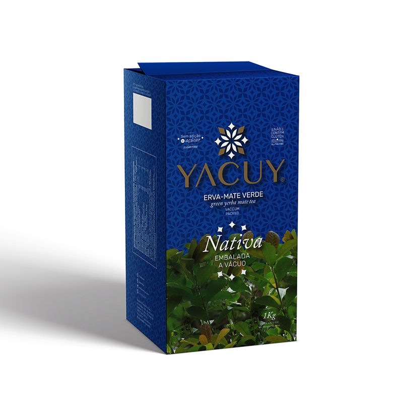 Erva-Mate Yacuy Nativa a Vácuo 1 kg