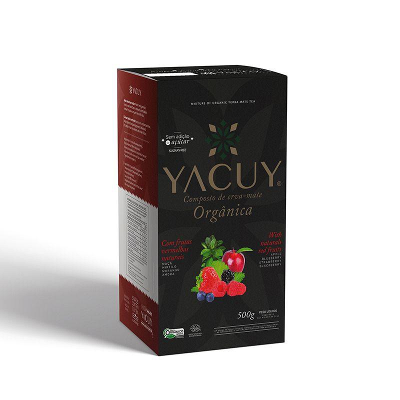 Erva-Mate Yacuy Orgânica com Frutas Vermelhas