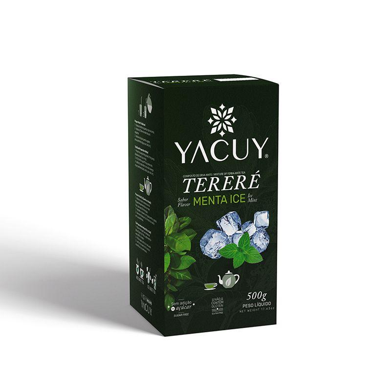 Erva Mate Yacuy Tereré Menta Ice 500 g